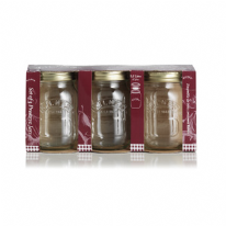 Kilner Set of 3 0.5 Litre Preserve Jars